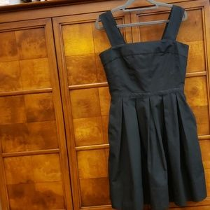 GAP Little Black Sleeveless Pleated Dress Size 4